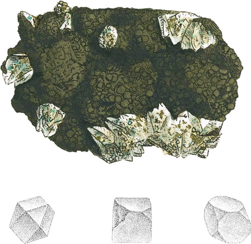 Granular Copper Pyrites