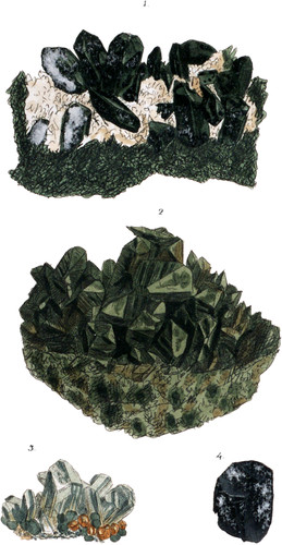 Pyroxene or Augite